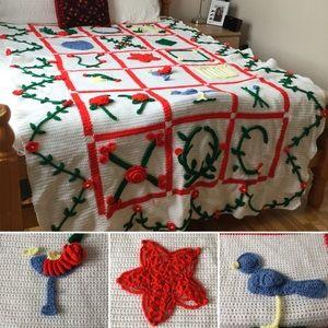 Handmade Crochet Bedspread